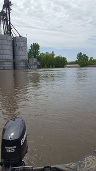 Winfield, Mo. Lock and Dam 25 Flooding 2019